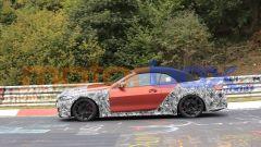 Nuova BMW M4 Cabrio, la Coupé avrà presto compagnia. Le foto spia - Immagine: 3