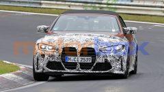 Nuova BMW M4 Cabrio, la Coupé avrà presto compagnia. Le foto spia - Immagine: 4