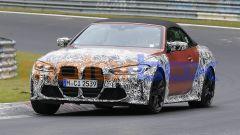 Nuova BMW M4 Cabrio, la Coupé avrà presto compagnia. Le foto spia - Immagine: 5