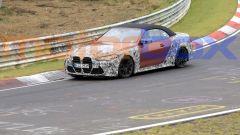 Nuova BMW M4 Cabrio, prime foto spia dal 'Ring