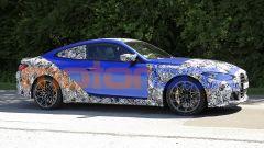 Nuova BMW M4 Coupé 2020: design creato in funzione dell'aerodinamica