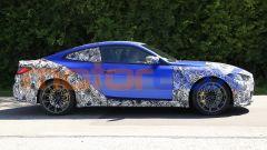 Nuova BMW M4 Coupé 2020: tetto molto inclinato verso la coda