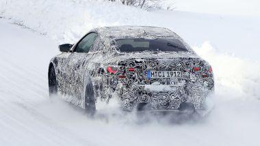 Nuova BMW M4 Coupé: avrà trazione posteriore e integrale
