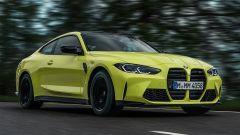 Nuova BMW M4 CSL: dati tecnici, interni, foto dell'auto tedesca