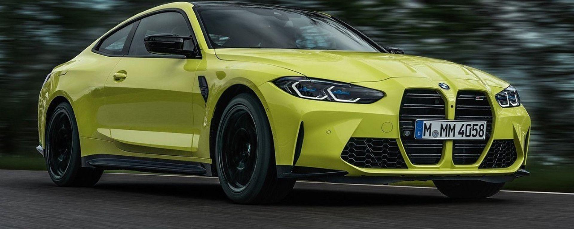 Nuova BMW M4 Coupé CSL: in arrivo una versione più potente e leggera della sportiva tedesca