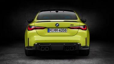 Nuova BMW M4 CSL: la coda della M4 con motore 6 cilindri biturbo da 510 CV