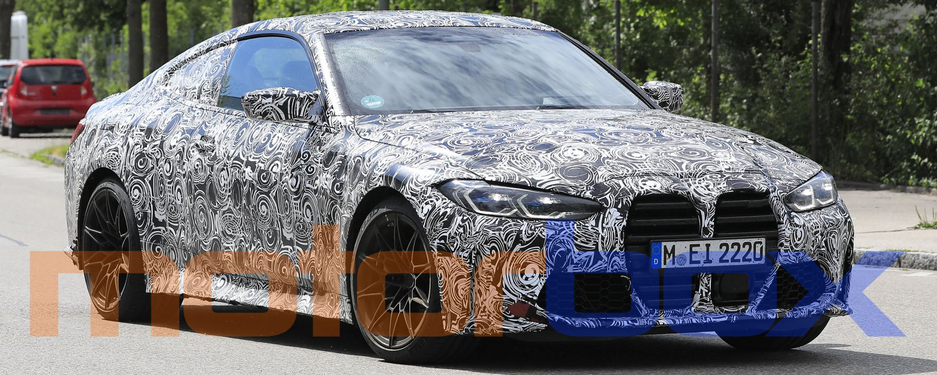 Nuova BMW M4: foto spia dalla Germania