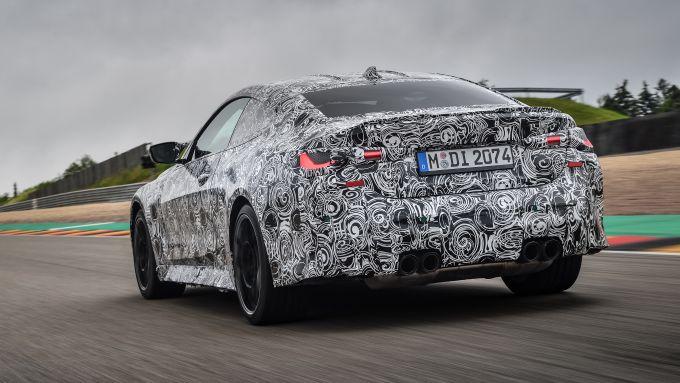 Nuova BMW M4: la riconosci anche così