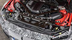 Nuova BMW M4, motore 6 cilindri in linea turbo da 480 cv