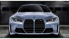 Nuova BMW M4: un rendering mostra lo stile. Confermata la griglia XL