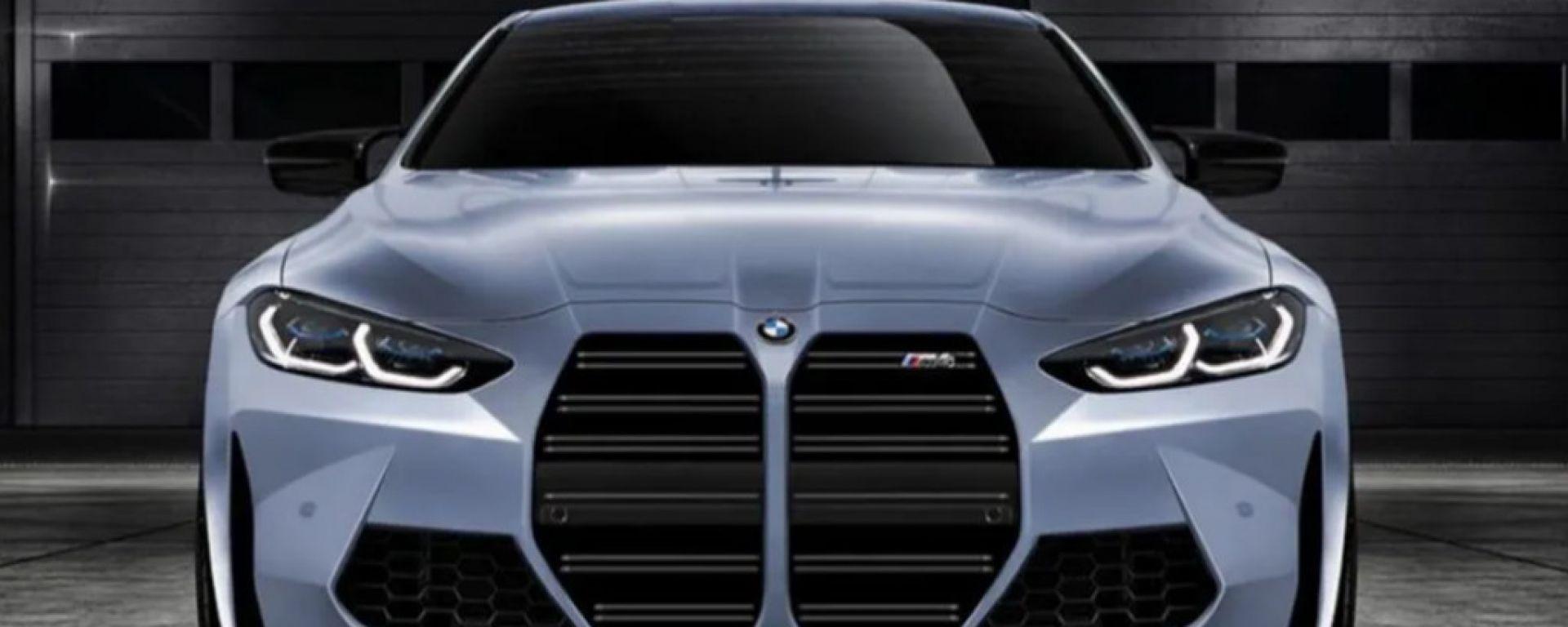 Rendering Nuova Bmw M4 2020 Come Cambia La Nuova Griglia Motorbox