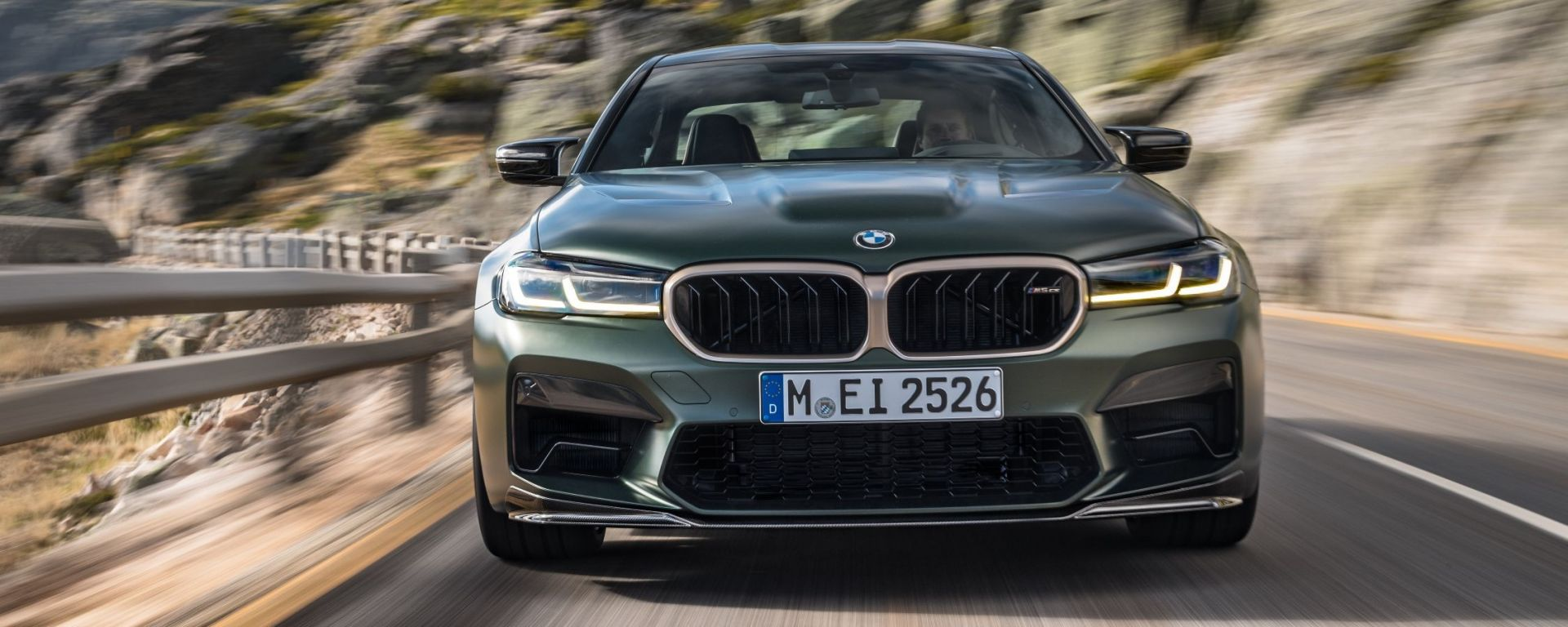 Nuova BMW M5 CS 2021