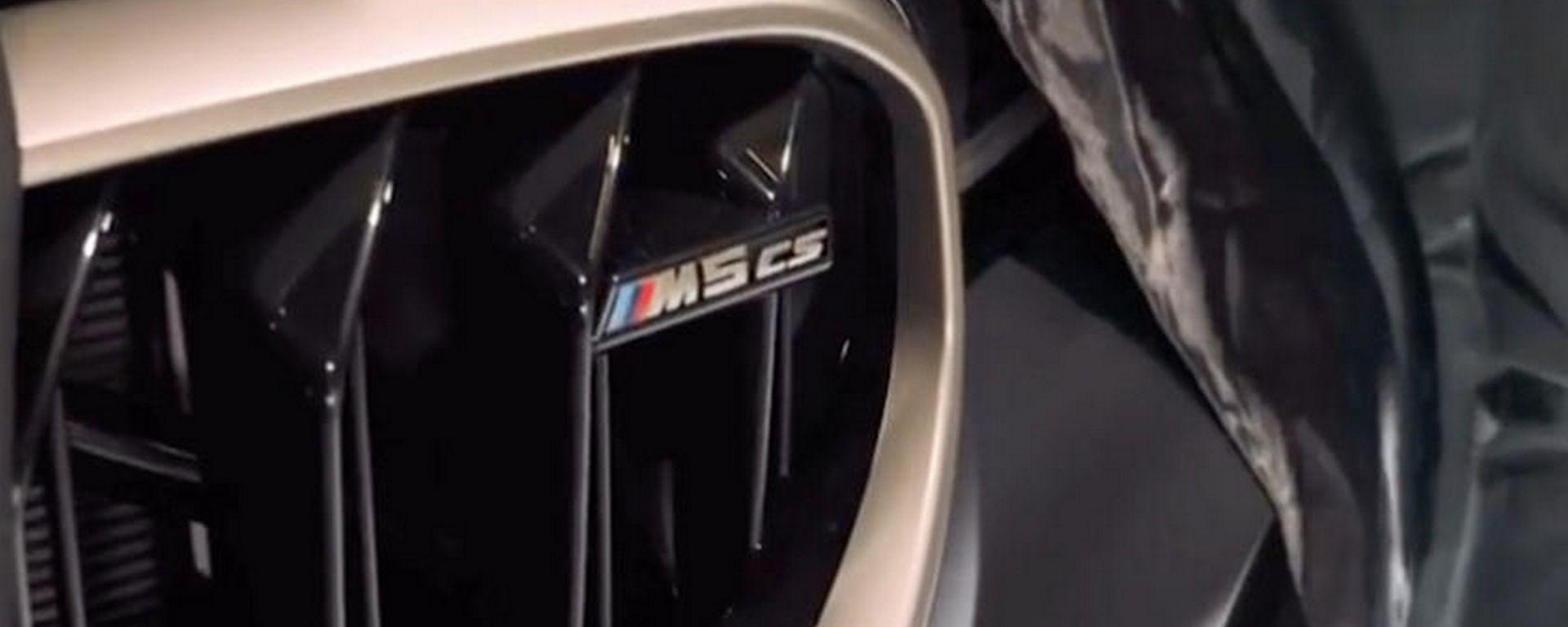 Nuova BMW M5 CS, appuntamento a gennaio 2021