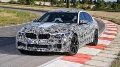 Nuova BMW M5: trazione posteriore o integrale - Immagine: 11