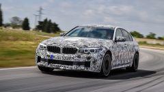 Nuova BMW M5: trazione posteriore o integrale - Immagine: 12