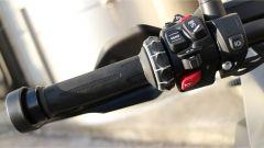 Nuova BMW R 1250 GS Adventure 2019: comandi al blocchetto elettrico sinistro