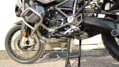 Nuova BMW R 1250 GS Adventure 2019: dettaglio delle protezioni motore