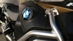 Nuova BMW R 1250 GS Adventure 2019: dettaglio dello stemma