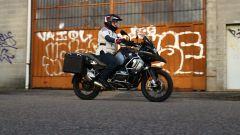 Nuova BMW R 1250 GS Adventure 2019: un momento del test