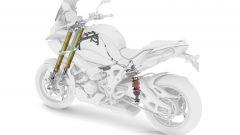 Nuova BMW S1000 XR: lo schema delle sospensioni elettroniche