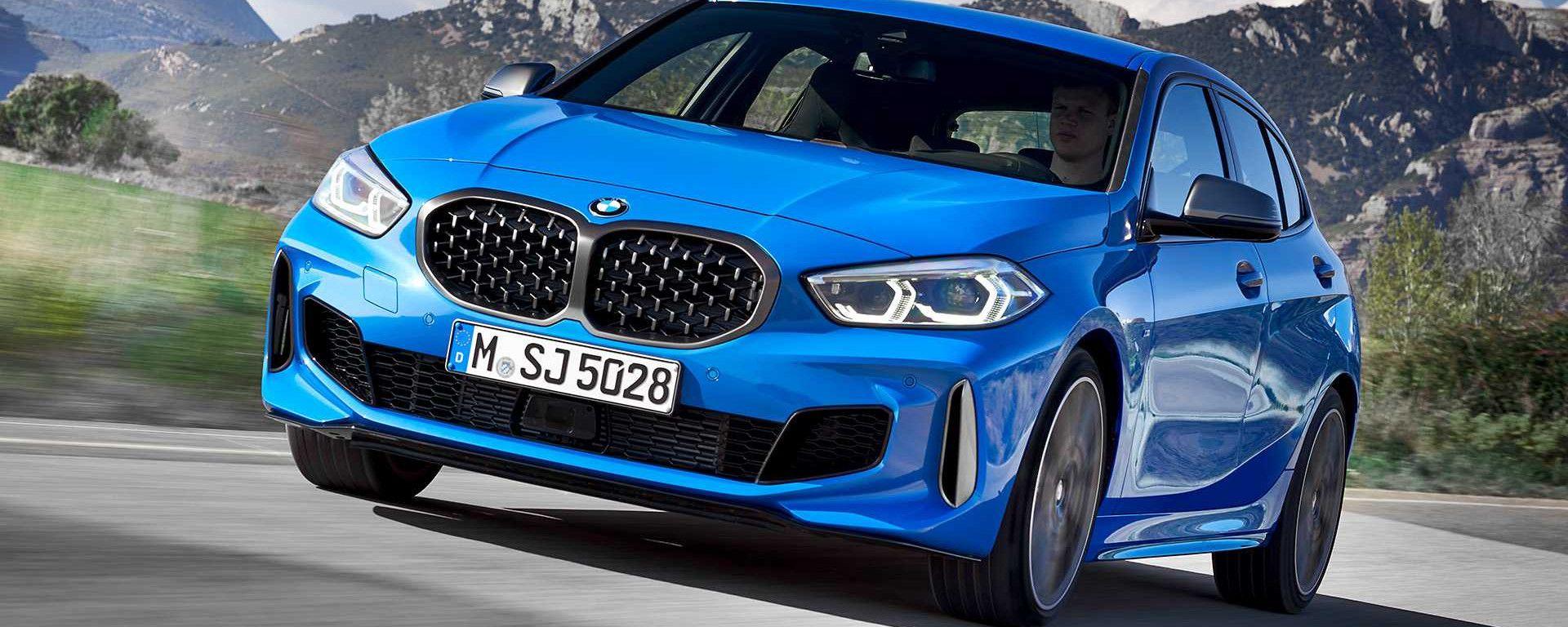 Nuova BMW Serie 1, la svolta della trazione anteriore. Prezzi