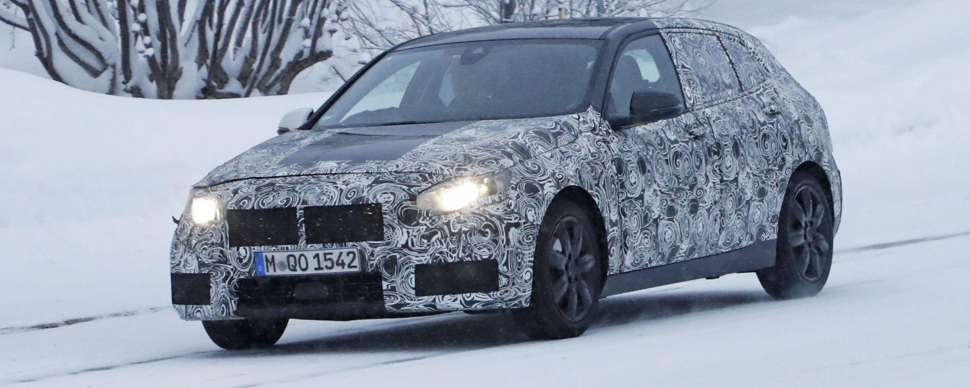 Nuova BMW Serie 1 2019: ecco come cambierà