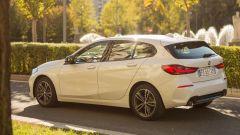 Nuova BMW Serie 1, prova su strada