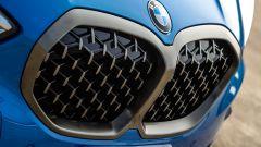 Nuova BMW Serie 1, calandra tridimensionale
