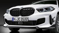 Nuova BMW Serie 1: ci sarà anche il pacchetto M Performance fronte auto