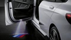 Nuova BMW Serie 1: ci sarà anche il pacchetto M Performance scritta led