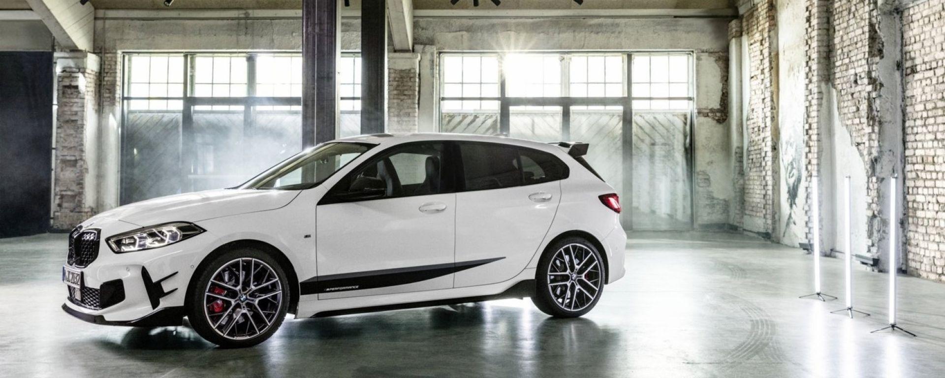 Nuova BMW Serie 1: ci sarà anche il pacchetto M Performance