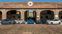 Nuova BMW Serie 1, foto di squadra