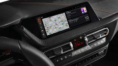 Nuova BMW Serie 1, il display di navigazione