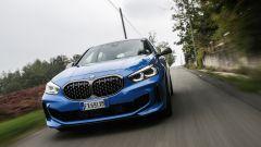 Nuova BMW Serie 1, il frontale