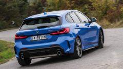 Nuova BMW Serie 1, il posteriore