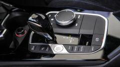 Nuova BMW Serie 1, la console del cambio automatico