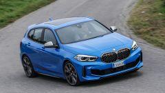 Nuova BMW Serie 1, sospensioni Multilink di serie