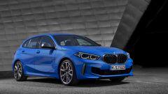 Nuova BMW Serie 1 vista di 3/4