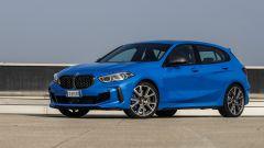 Nuova BMW Serie 1, vista laterale