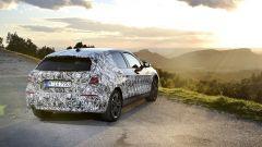 Nuova BMW Serie 1, vista posteriore