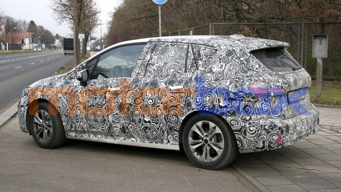NUova BMW Serie 2 Active Tourer: la seconda generazione arriverà entro metà 2021