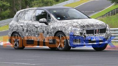 Nuova BMW Serie 2 Active Tourer, le nostre foto spia