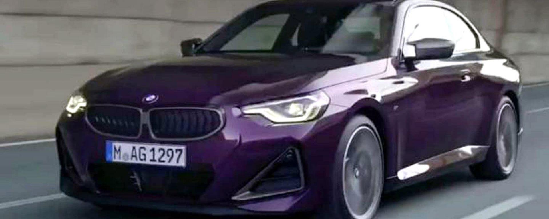 Nuova BMW Serie 2 Coupé (2021): render o foto reale?