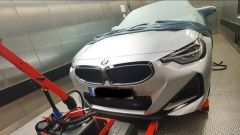 Nuova BMW Serie 2 Coupé: l'anteriore