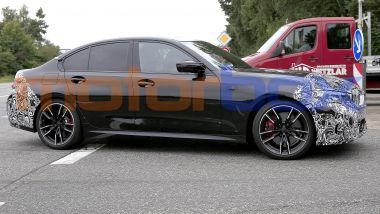 NUova BMW Serie 3: potrebbe avere tutte motorizzazioni ibride