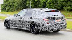 Nuova BMW Serie 3: gli ultimi collaudi prima di Parigi 2018 - Immagine: 20