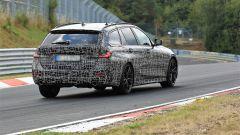 Nuova BMW Serie 3 Touring 2019: durante gli ultimi test