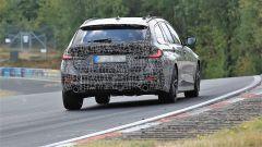 Nuova BMW Serie 3 Touring 2019: impegnata in curva