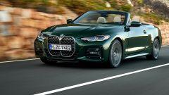 Nuova BMW Serie 4 Cabrio: 3/4 frontale