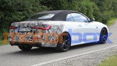 BMW Serie 4 Cabrio 2021: nuove foto spia a muso scoperto - Immagine: 5